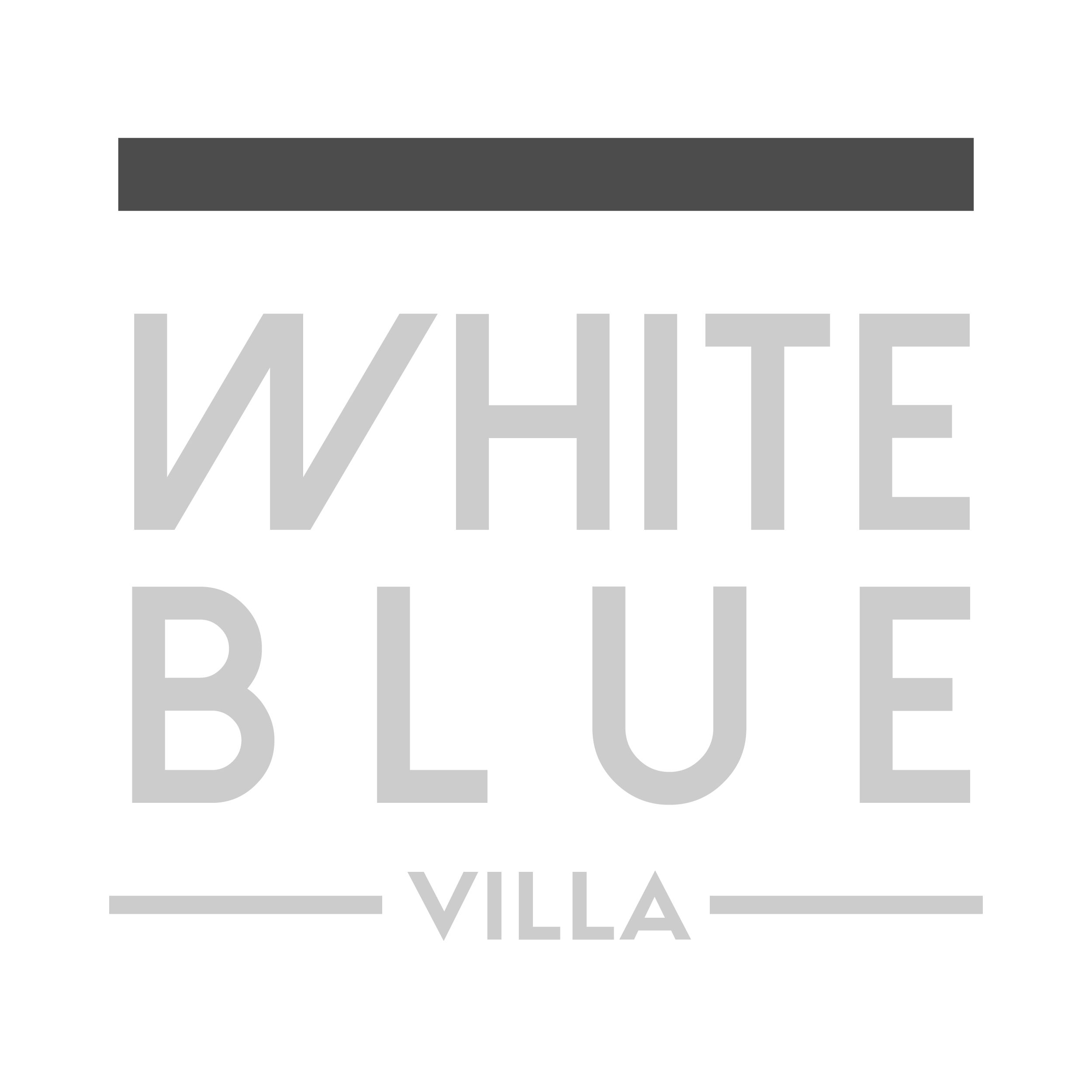 White Blue Villa